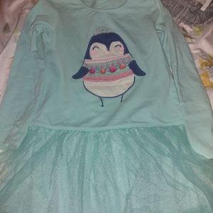 Penguin tutu dress